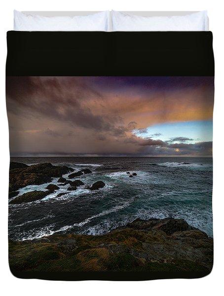 Storm Coastline Duvet Cover