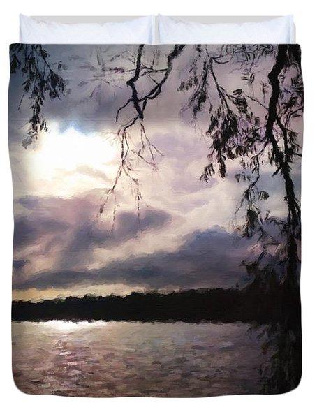 Storm Light Duvet Cover