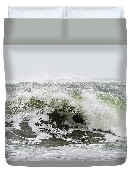 Storm Surf Spray Duvet Cover