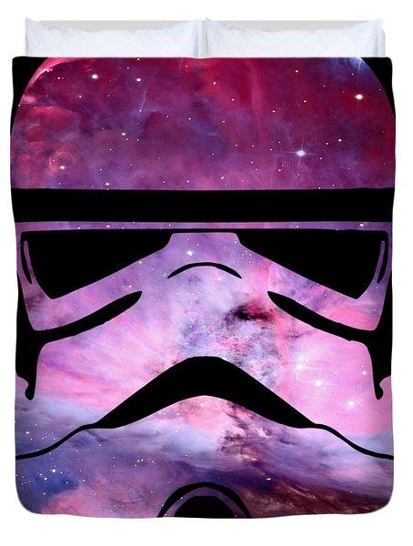 Storm Trooper Nebula Duvet Cover