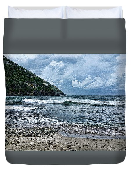 Stormy Shores Duvet Cover
