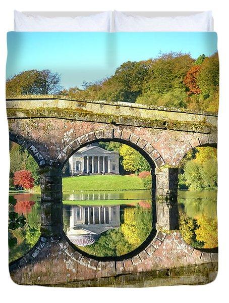 Stourhead Autumn Duvet Cover