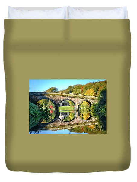 Stourhead Autumn Duvet Cover