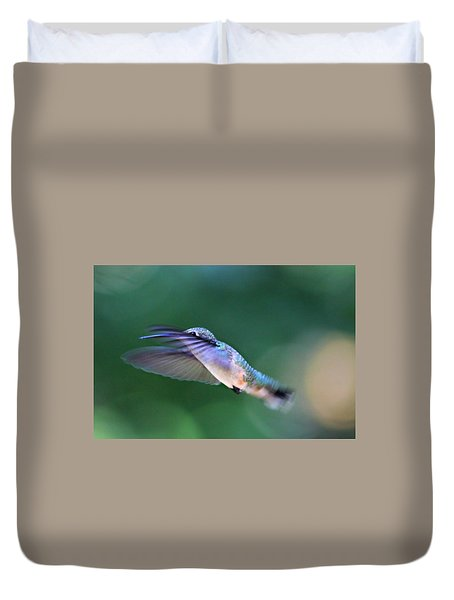 Duvet Cover featuring the photograph Stretch by Candice Trimble
