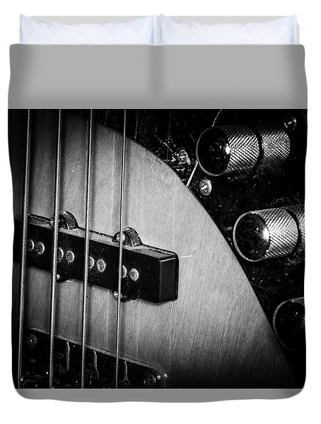 Duvet Cover featuring the photograph Strings Series 22 by David Morefield