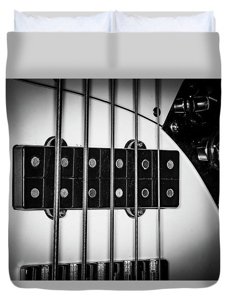 Duvet Cover featuring the photograph Strings Series 23 by David Morefield