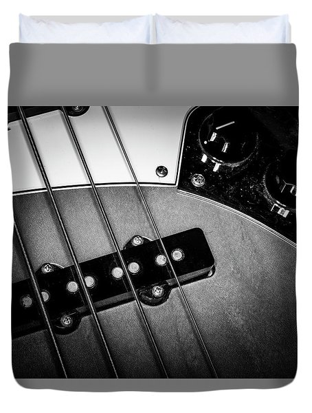 Duvet Cover featuring the photograph Strings Series 24 by David Morefield