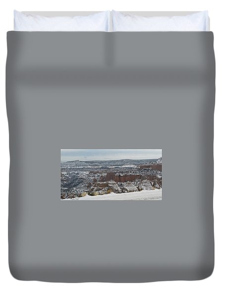 Striped Overview Duvet Cover