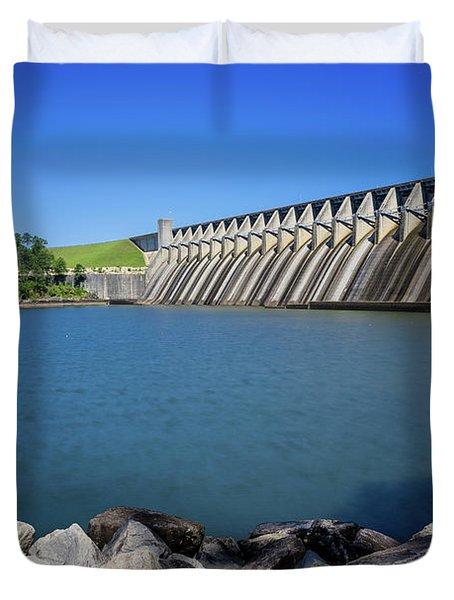 Strom Thurmond Dam - Clarks Hill Lake Ga Duvet Cover