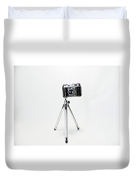 Studio. Kodak Retina 2. Duvet Cover