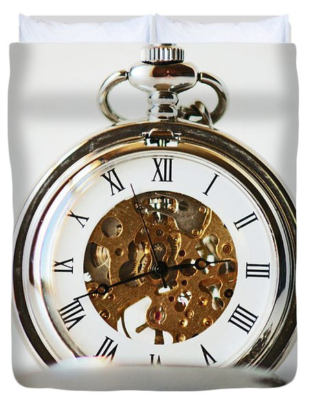 Studio. Pocketwatch. Duvet Cover