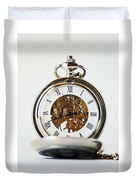 Studio. Pocketwatch. Duvet Cover