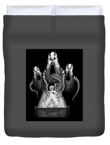 Sugar Babies A Dark Nursery Rhyme - Artwork Duvet Cover