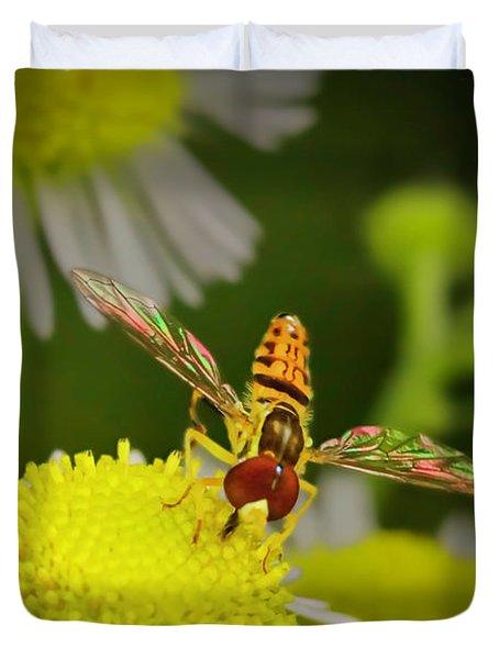Sugar Bee Wings Duvet Cover