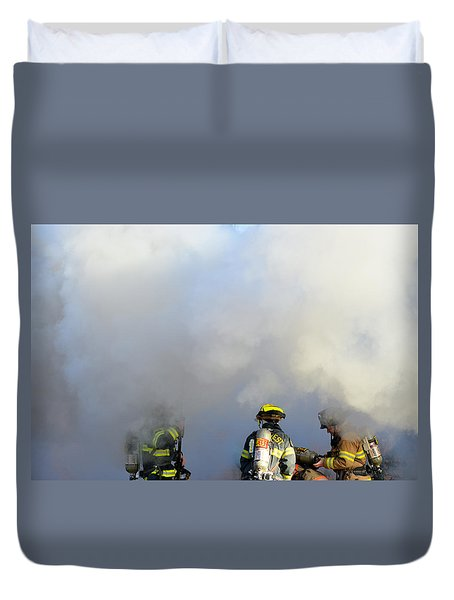 Suit Up Duvet Cover