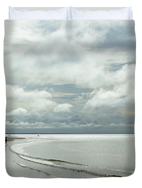 Summer Clouds Duvet Cover