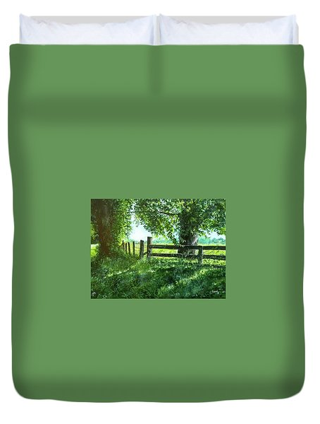 Summer Detour Duvet Cover