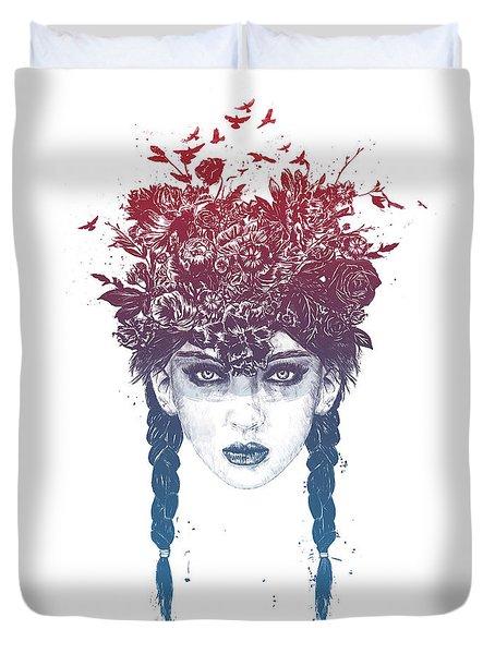 Summer Queen Duvet Cover