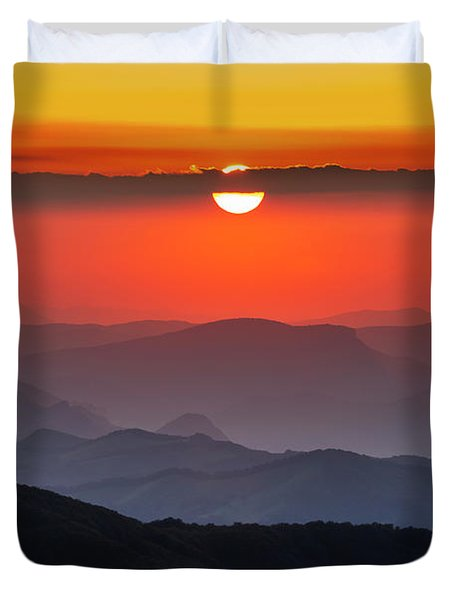 Sun Eye Duvet Cover