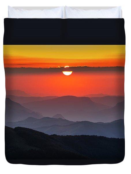 Sun Eye Duvet Cover