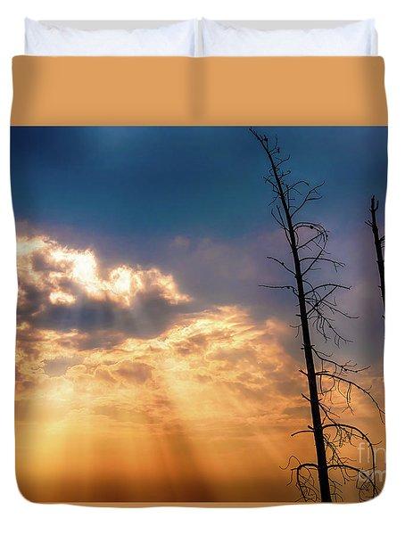 Sunbeams Duvet Cover