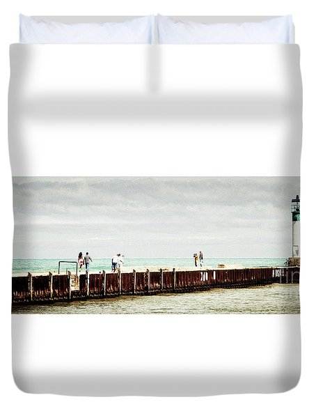 Sunny Afternoon Duvet Cover