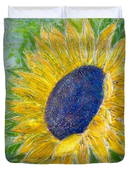 Sunflower Praises Duvet Cover