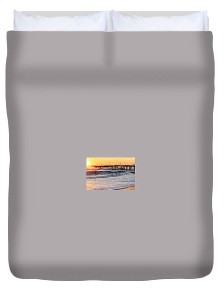 Duvet Cover featuring the photograph Sunlight by Russell Pugh