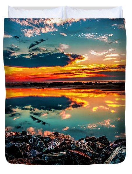 Sunrise At Hereford Duvet Cover