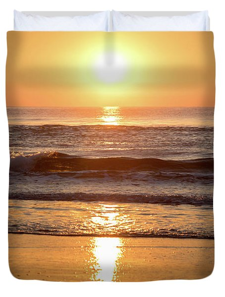 Sunrise At Surfers Paradise Duvet Cover