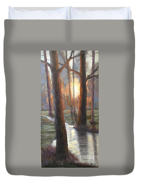 Sunrise Creek Duvet Cover