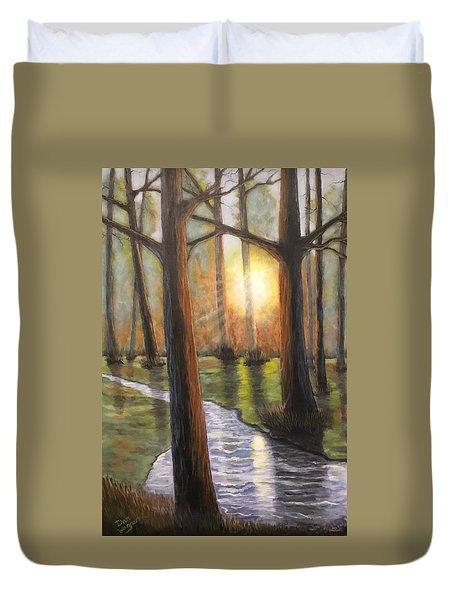 Sunrise Creek II Duvet Cover