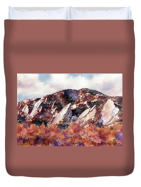 Sunrise Splendor Duvet Cover