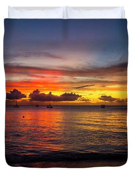 Sunset 4 No Filter Duvet Cover