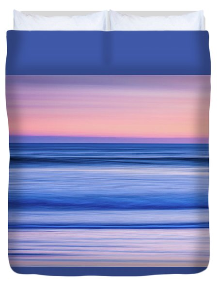 Sunset Abstract Duvet Cover
