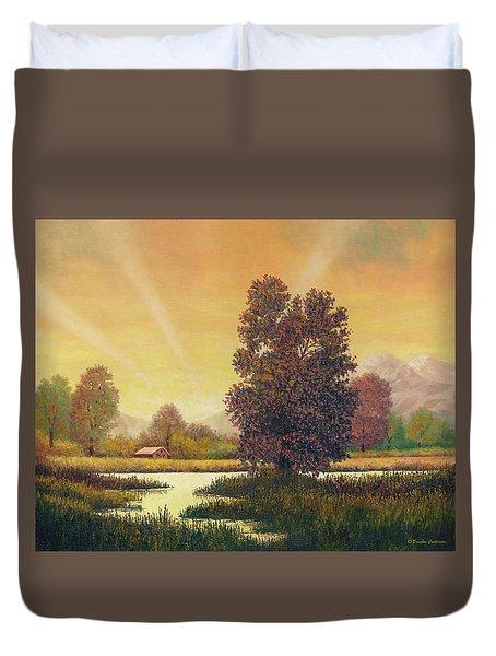 Sunset Color Duvet Cover