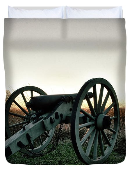 Sunset In Defense Duvet Cover