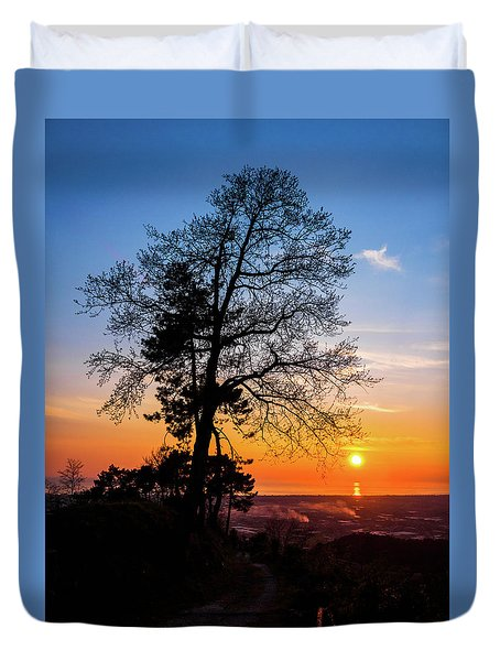 Sunset - Monte D'oro Duvet Cover