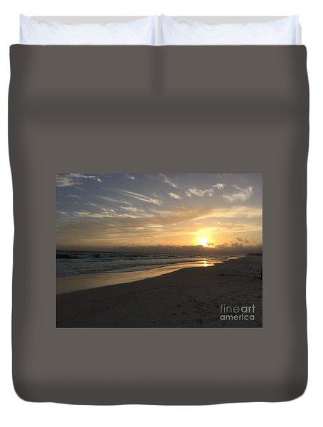 Sunset On 30a Duvet Cover