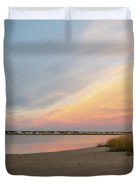 Sunset West Dennis Cape Cod Duvet Cover