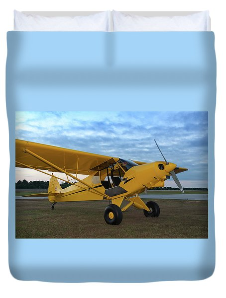 Super Cub At Daybreak Duvet Cover