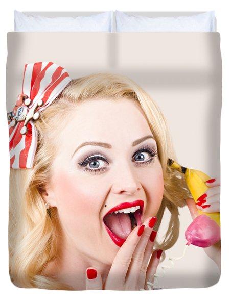 Surprising News On The Banana Phone Duvet Cover
