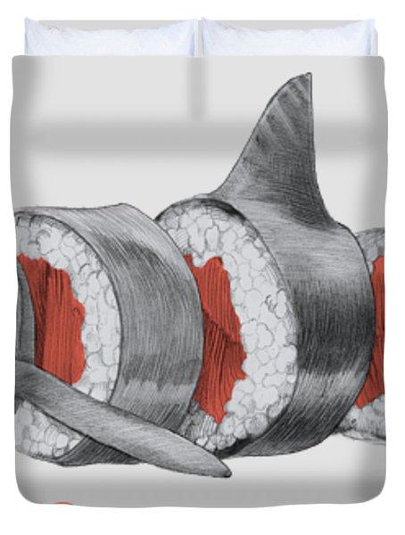 Sushi Mako Duvet Cover