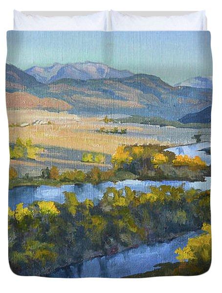 Swan Valley Duvet Cover