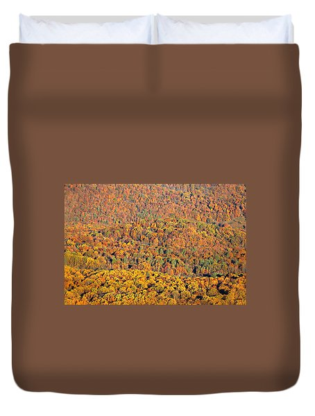 Duvet Cover featuring the photograph Sweeping Beauty by Candice Trimble