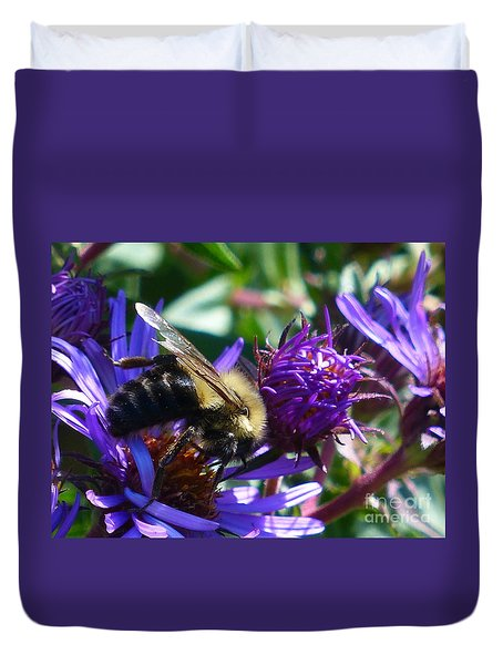 Duvet Cover featuring the photograph Sweet Harvest by Rosanne Licciardi