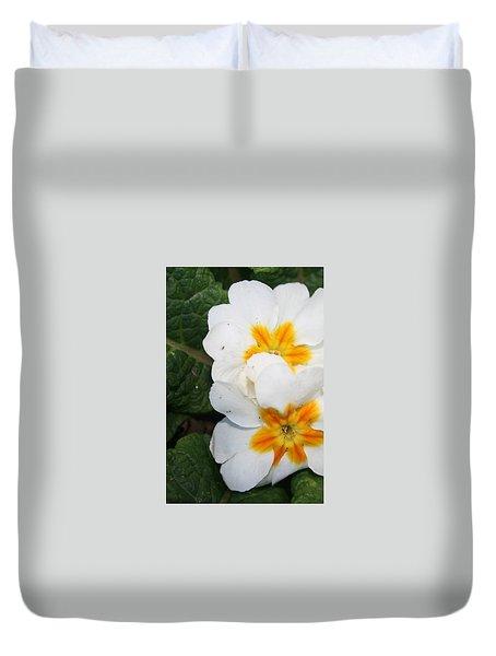 Sweet Primrose Duvet Cover