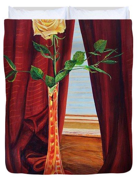 Sweetheart Day's Rose Duvet Cover