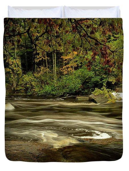 Swirling River Duvet Cover