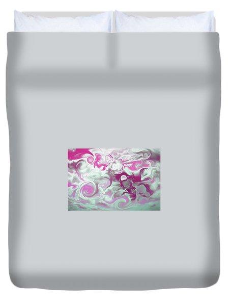 Swirly Skies Duvet Cover